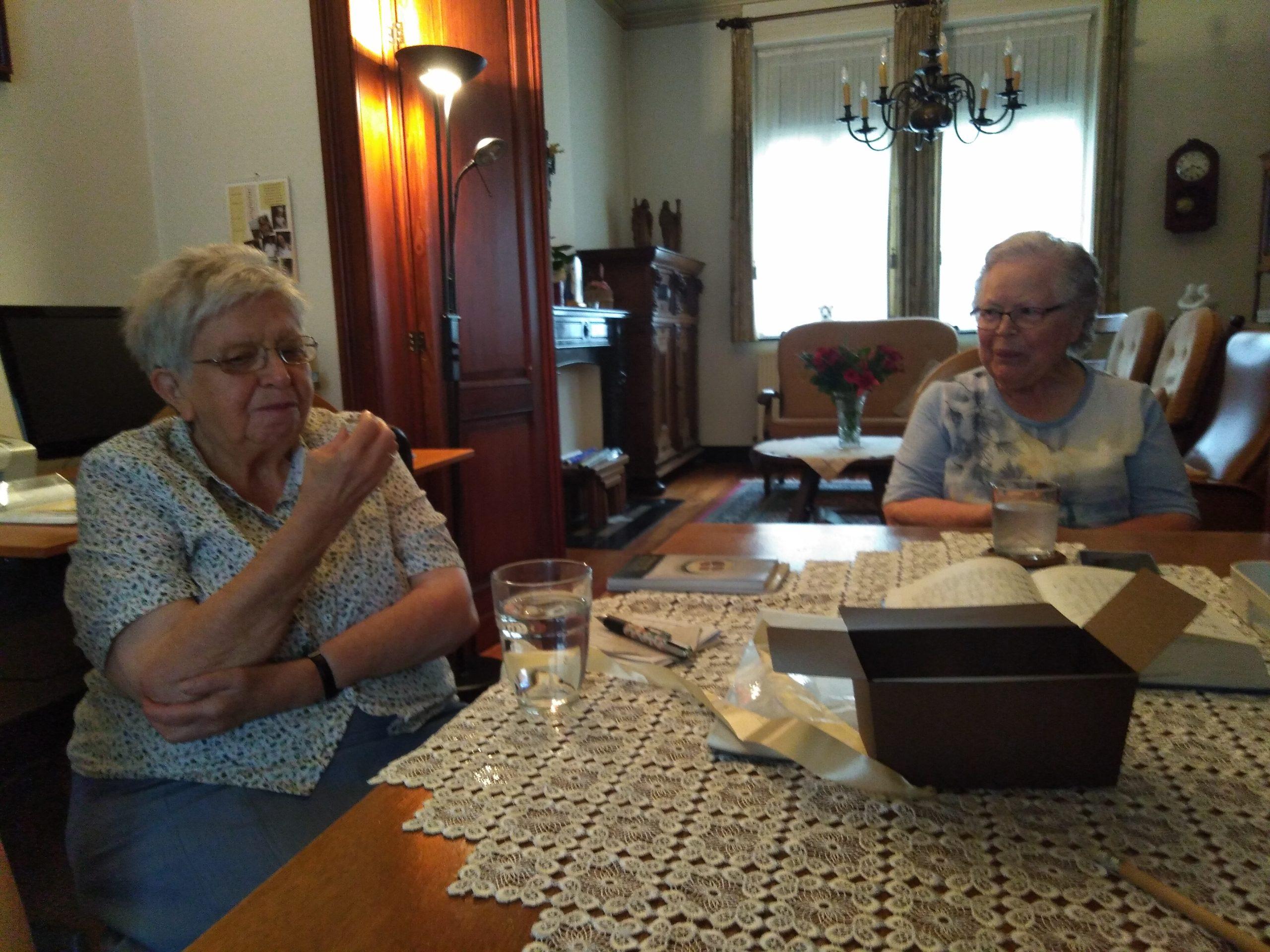 Zuster Imelda en zuster Magda aan het woord
