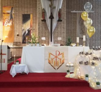 Sfeervolle Eerste Communie- en Vormselvieringen in Wijshagen