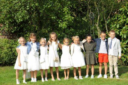 Eerste Communie en Vormsel in Wijshagen