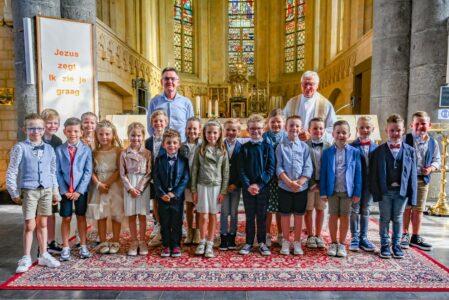 Eerste Communie in Gruitrode